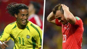 Ronaldinho Xherdan Shaqiri Split