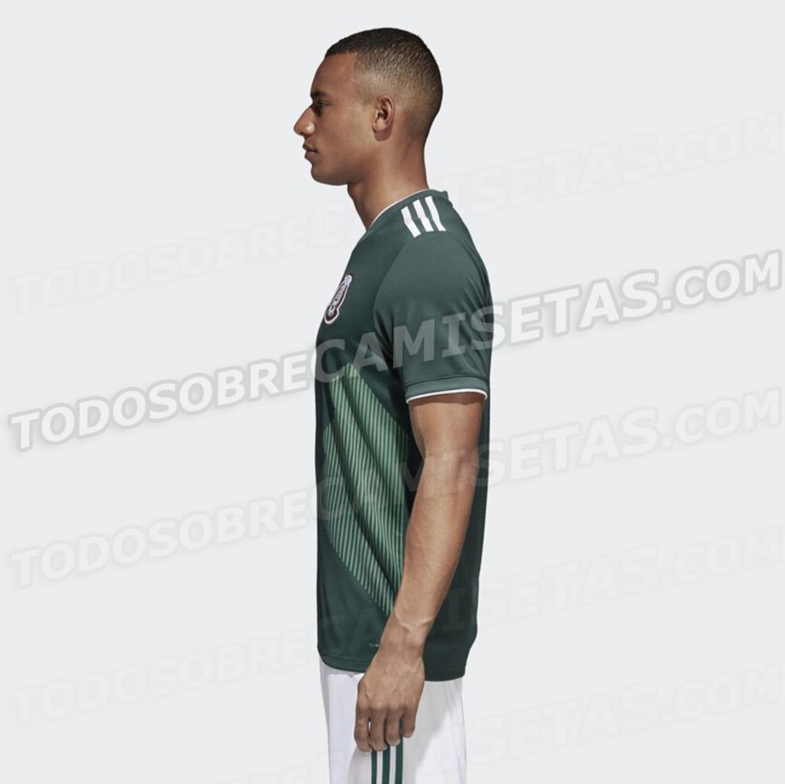 Uniforme Selección mexicana Mundial Rusia 2018
