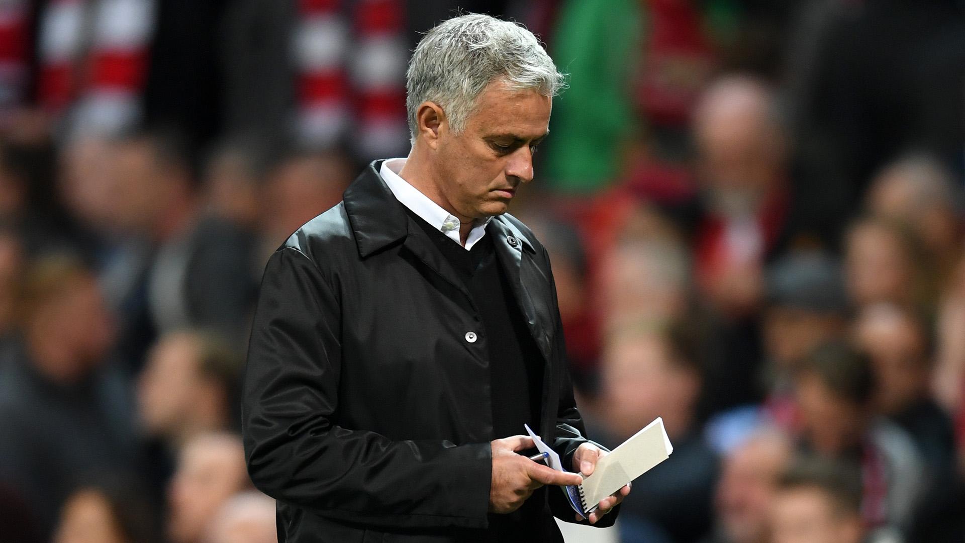 Jose Mourinho Manchester United notepad