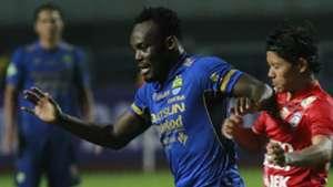 Michael Essien of Persib Bandung