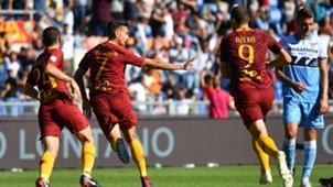 Lorenzo Pellegrini Roma Lazio Serie A