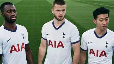 Tottenham kit 2019-20 home