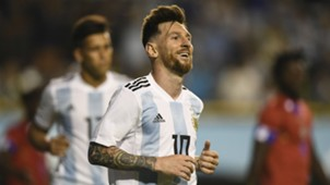 Lionel Messi Argentina Haiti international friendly 2018