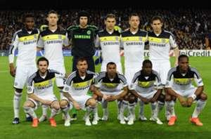 chelsea team against barcelona 2012