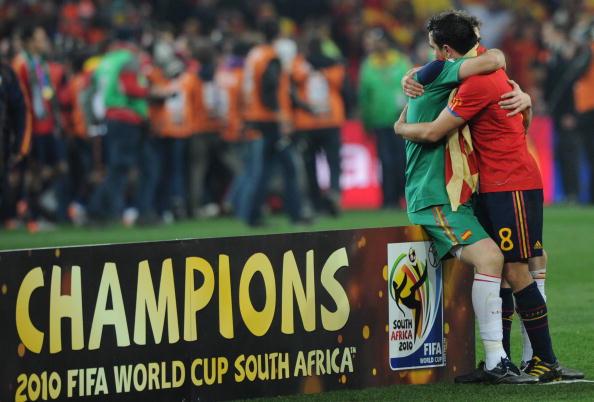 Iker Casillas & Xavi