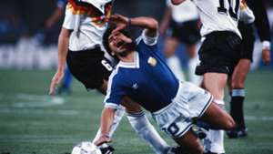 Diego Maradona Argentina West Germany World Cup final 1990