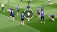GFX Video Ramos Lucas Vazquez entrenamiento Real Madrid