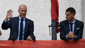 Zinedine Zidane Dani Ceballos Real Madrid