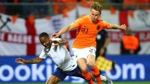 Raheem Sterling Frenkie de Jong England Netherlands Nations League 2019