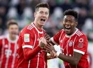 Robert Lewandowski David Alaba Bayern Munchen
