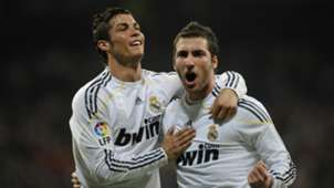 Cristiano Ronaldo Gonzalo Higuain Real Madrid