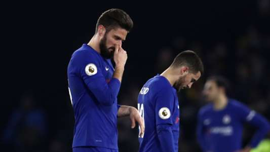 Olivier Giroud, Eden Hazard, Chelsea