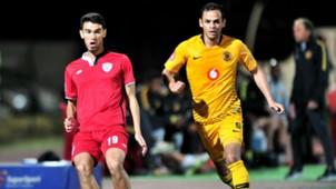 Yusuf Jappie, Free State Stars & Gustavo Paez, Kaizer Chiefs, September 2018