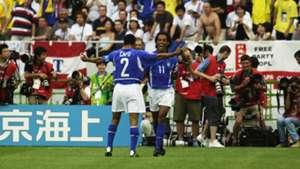 Ronaldinho Brazil England 2002 World Cup