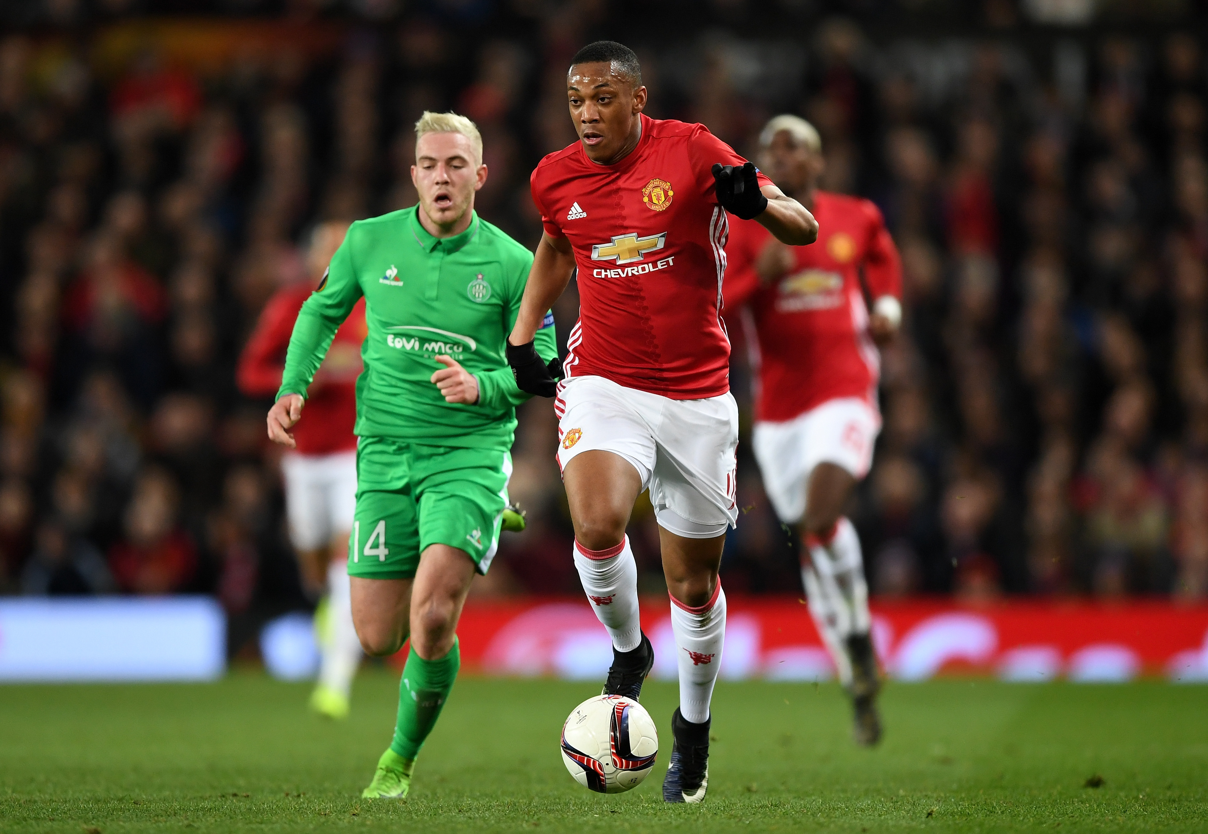 Anthony Martial Manchester United Saint-Etienne