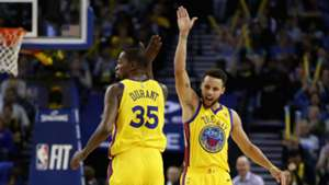 Kevin Durant Steph Curry Golden State Warriors NBA