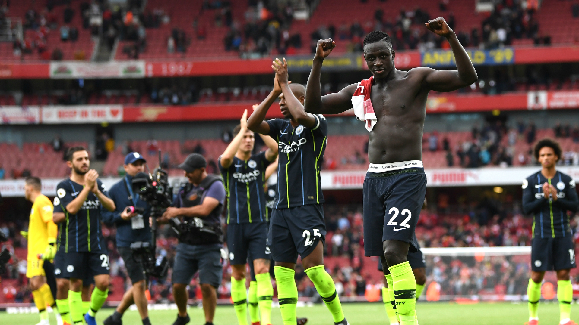 Manchester City too strong for Arsenal and Unai Emery