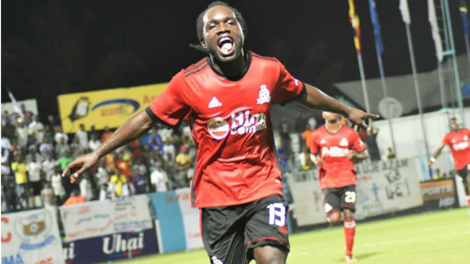 Dan Sserunkuma of Vipers FC Uganda.