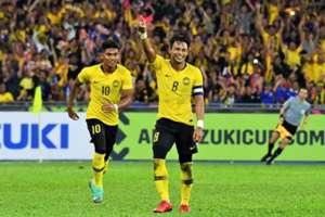 Shahrel Fikri, Zaquan Adha, Malaysia, AFF Championship, 24112018