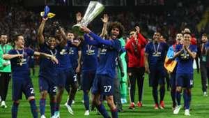 Marouane Fellaini Manchester United Europa League