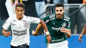 Pedrinho Bruno Henrique Corinthians Palmeiras Brasileirao Serie A 13052018