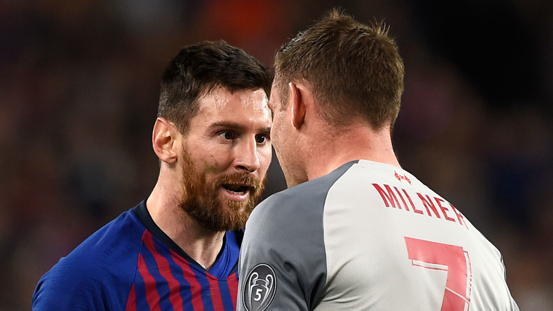 'Messi was calling me a donkey' - Milner says Barca star was incensed by late tackle