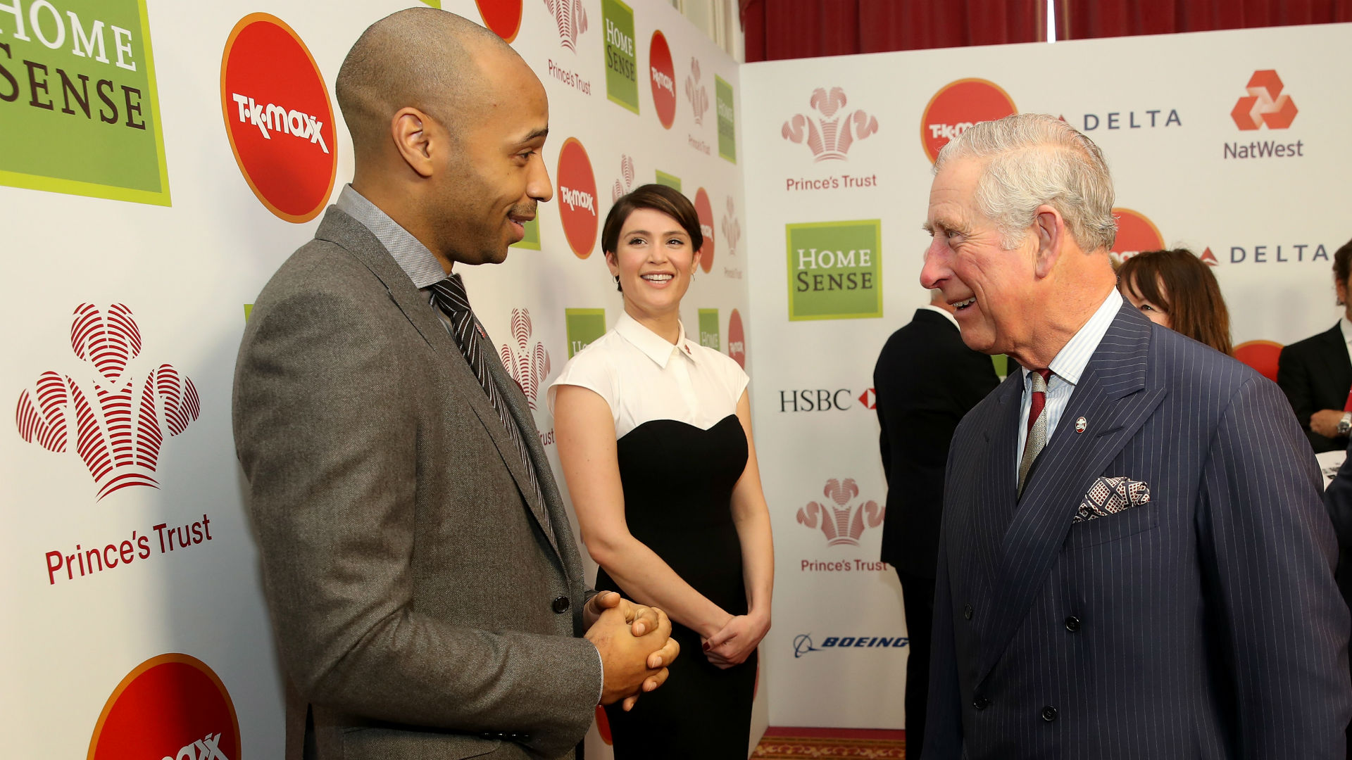 Thierry Henry Prince Charles