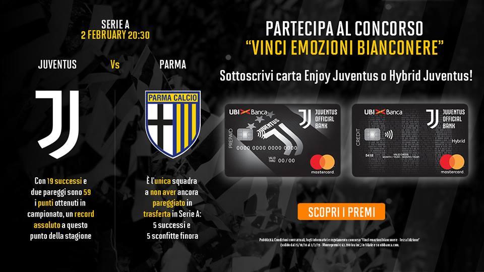 Juventus Parma Ubi Banca