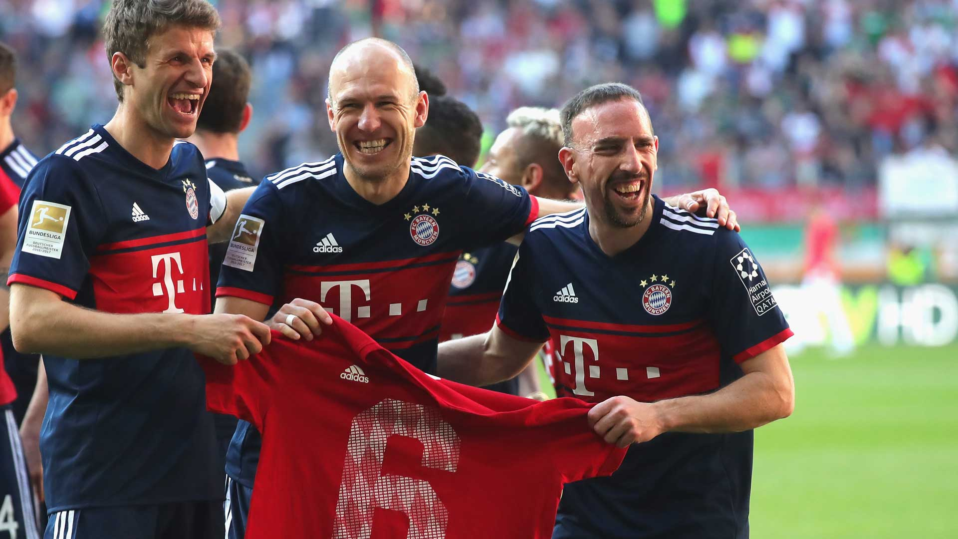 2018-04-08-Bayern Muenchen-Franck Ribery-Arjen Robben