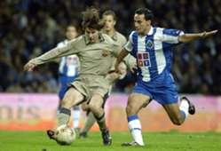 Messi debut Oporto Barcelona