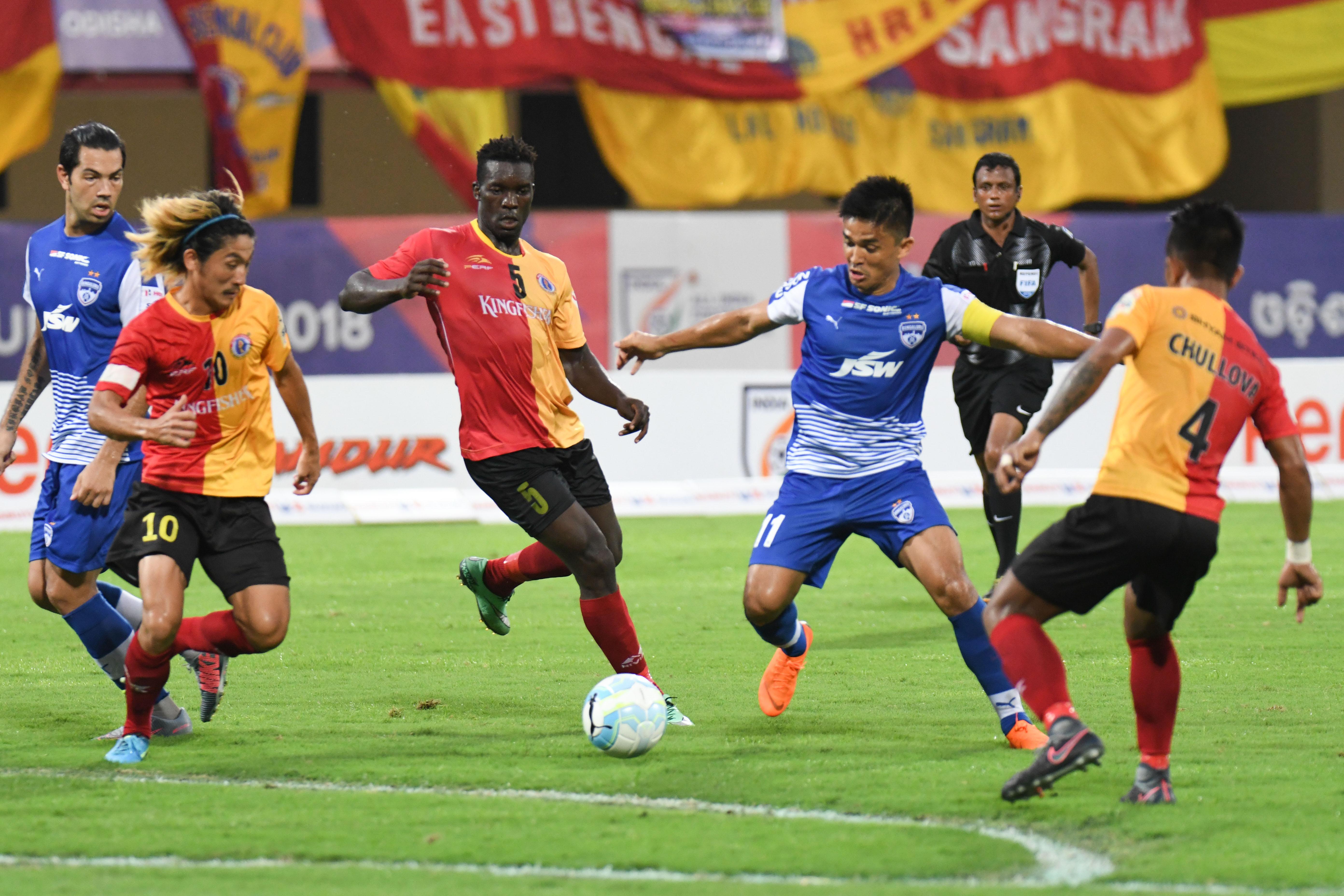 East Bengal Bengaluru FC Super Cup 2018