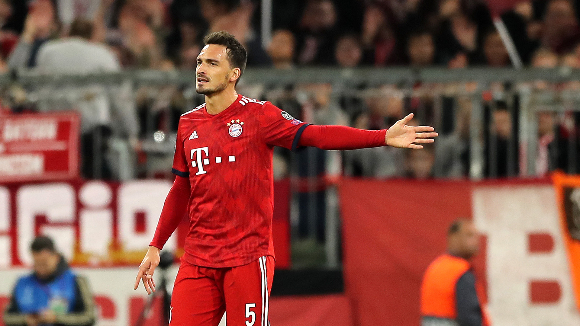 Mats Hummels FC Bayern Champions League 02102018