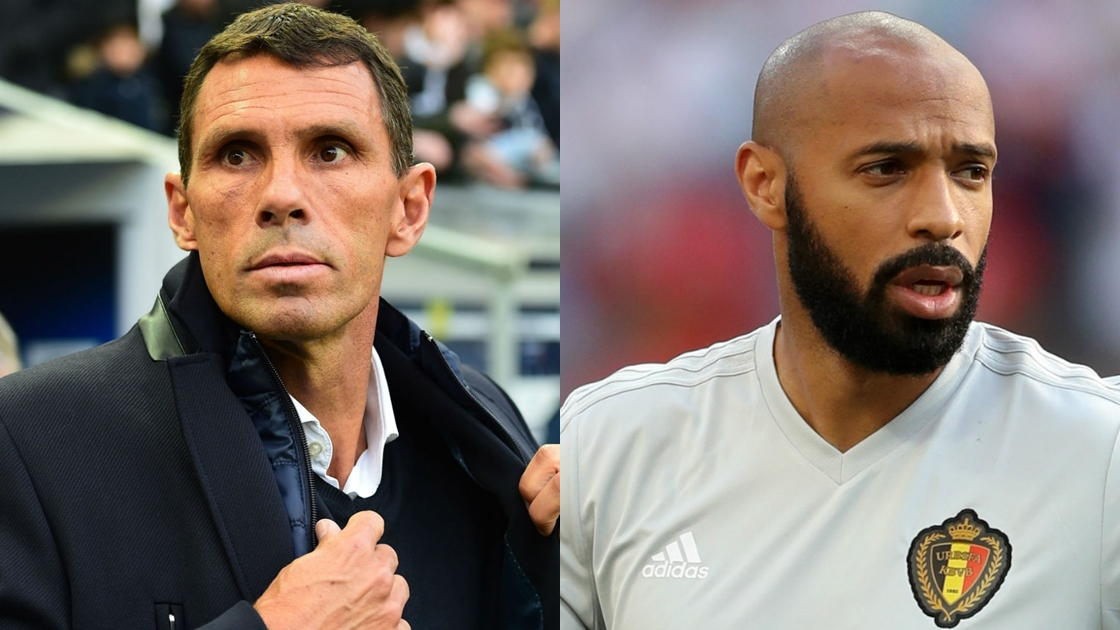 Gus Poyet - Thierry Henry