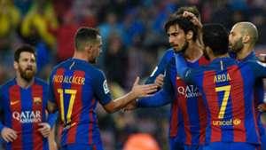Andre Gomes Paco Alcacer Barcelona Osasuna LaLiga 26042017