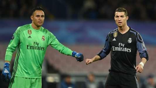 Keylor Navas Cristiano Ronaldo Real Madrid