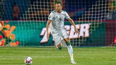 Djamel Eddine Benlamri of Algeria during the 2019 African Cup of Nations