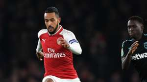 Theo Walcott Arsenal West Ham