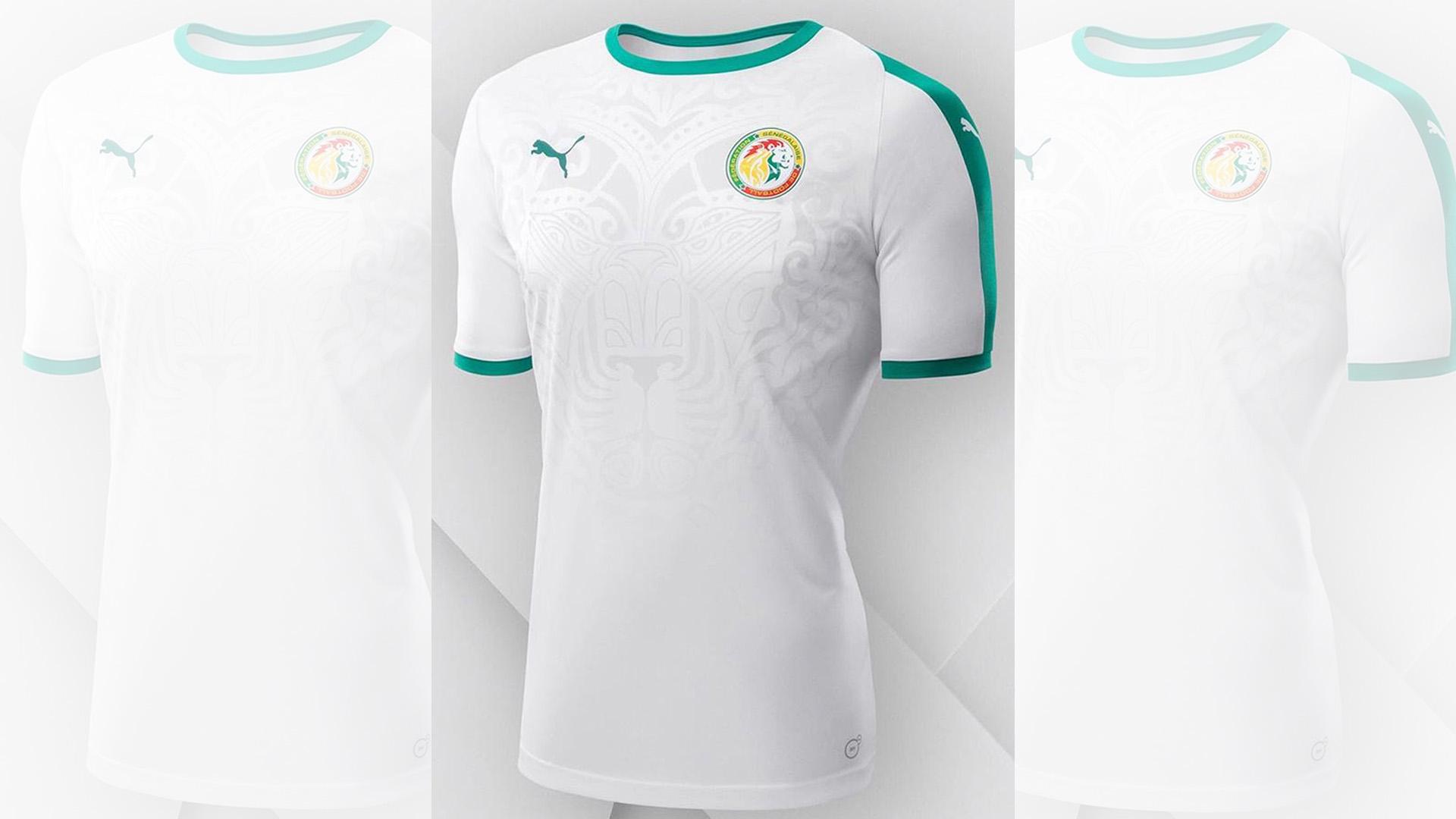 184c76ed6 El equipo africano solo ha presentado el uniforme blanco para el mundial