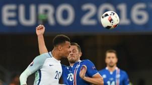 Gylfi Sigurdsson Dele Alli England Iceland 27062016