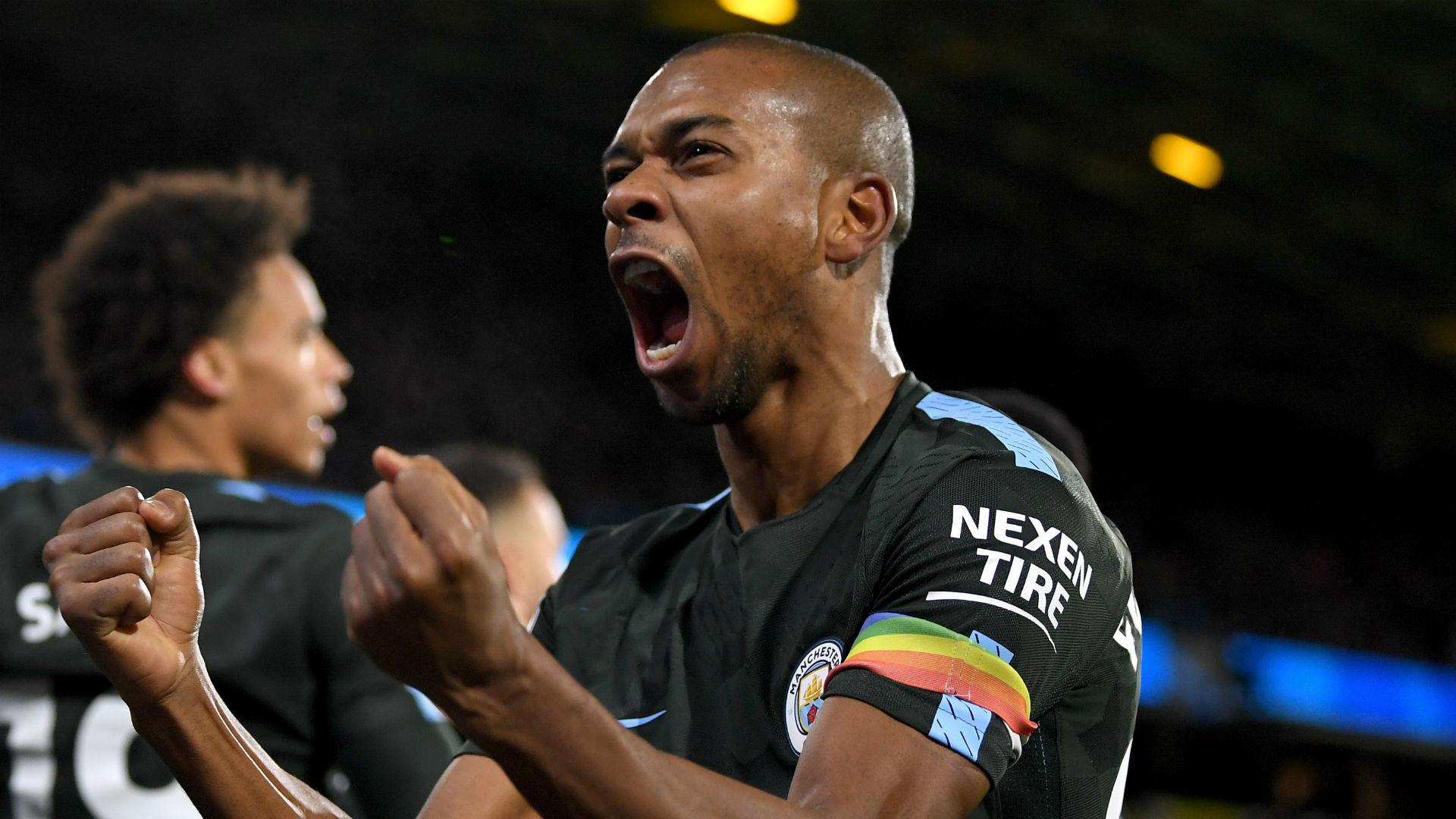Fernandinho Manchester City Huddersfield
