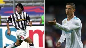 Marcelo Salas Cristiano Ronaldo