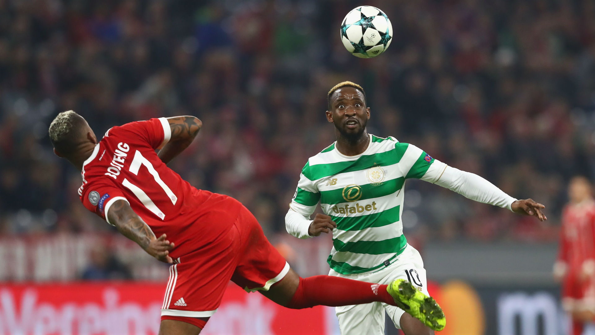 Jerome Boateng Bayern Munich Moussa Dembele Celtic