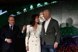Zinedine Zidane Florentino Perez Real Madrid