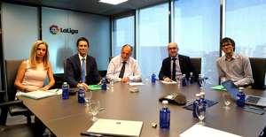 Futbolistas ON reunión con LaLiga