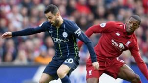 Bernardo Silva Georginio Wijnaldum Manchester City Liverpool