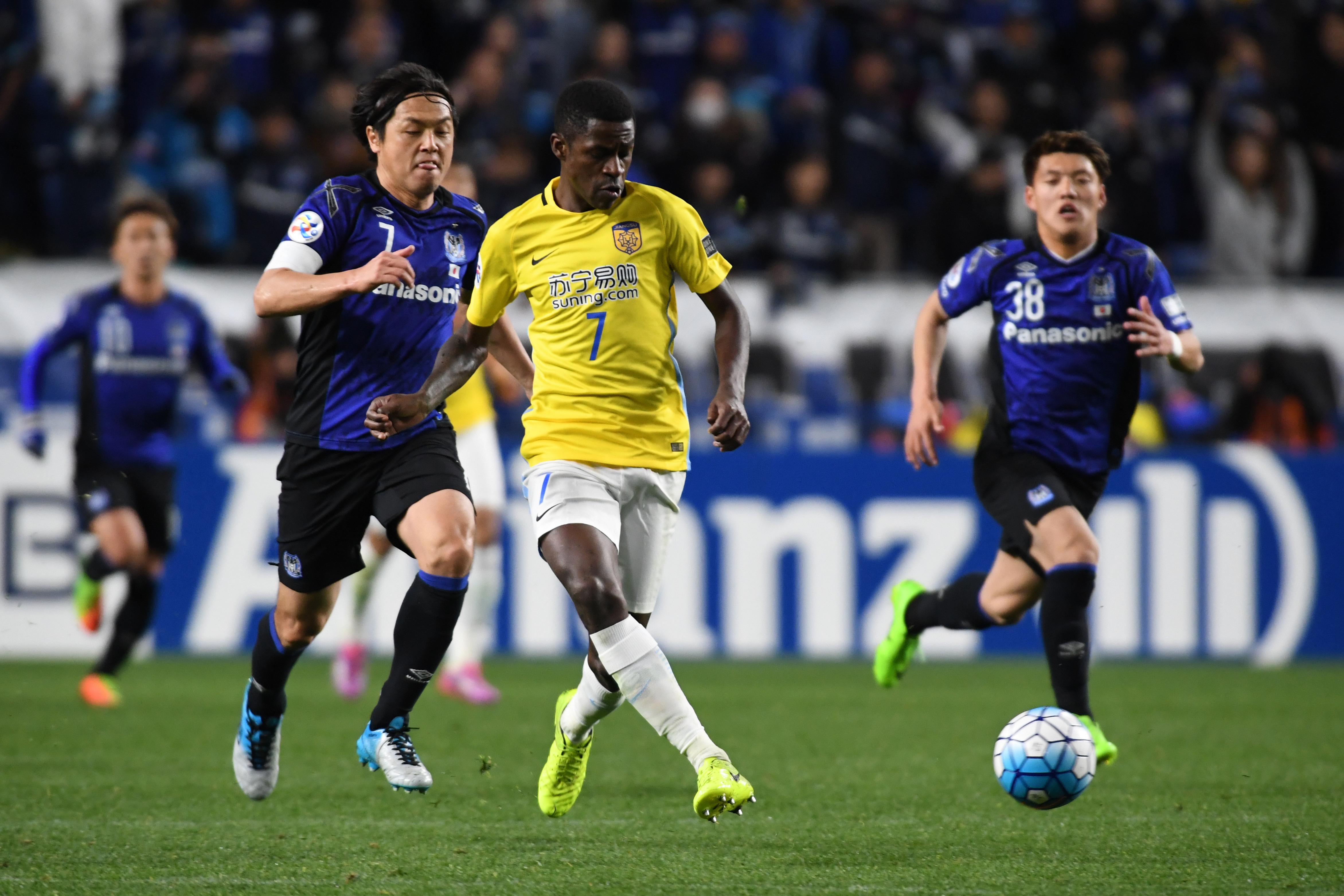 Gamba Osaka vs Jiangsu Suning