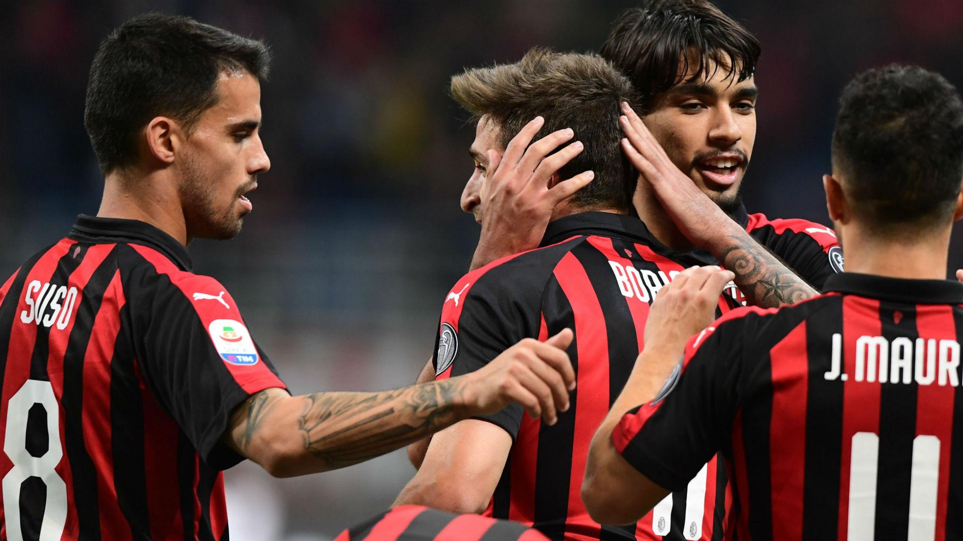 Borini Milan Bologna Serie A
