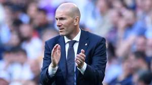 Zinedine Zidane Real Madrid 2019
