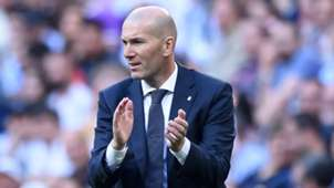 Zinedine Zidane Real Madrid 2019