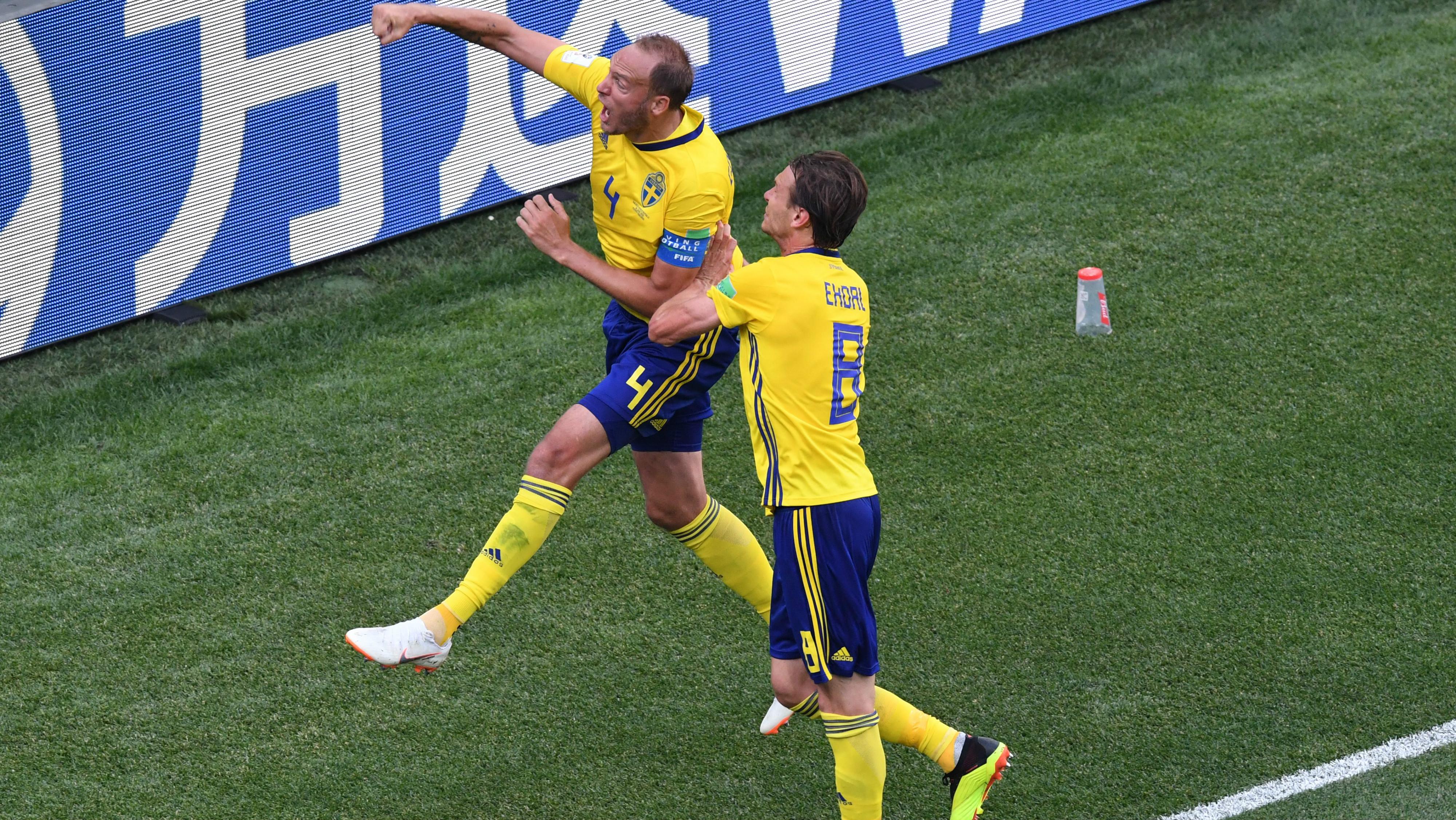 Andreas Granqvist - Suécia x Coreia do Sul - 18/06/2018